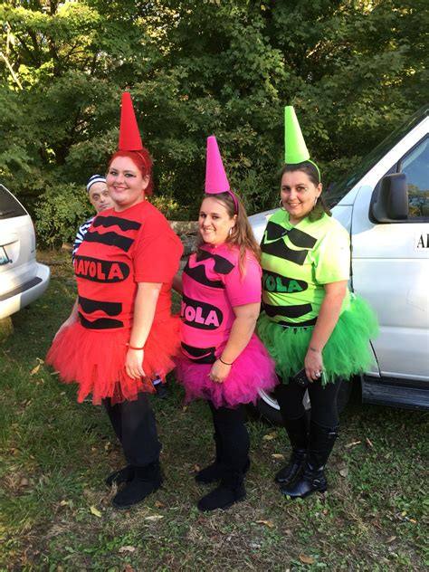 Crayon Halloween Costumes Diy