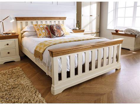 Cream-Wooden-Bed