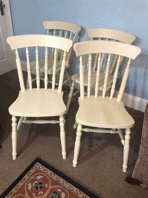 Cream-Wooden-Kitchen-Chairs