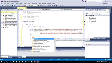 Create Table Dynamically Sql