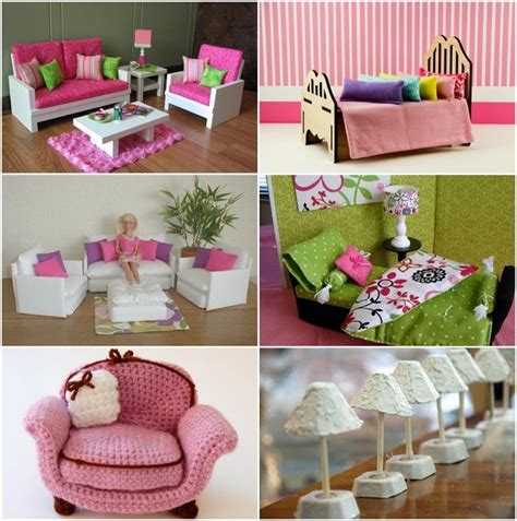 Creative Diy Barbie Furniture Ideas