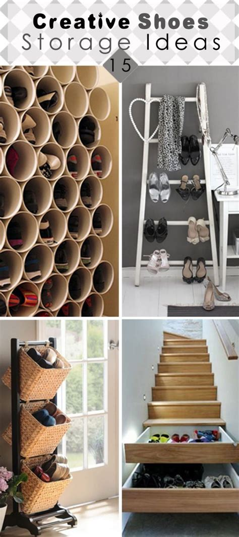 Creative Diy Shoe Rack