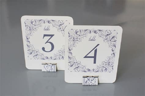 Creative Diy Table Number Holders