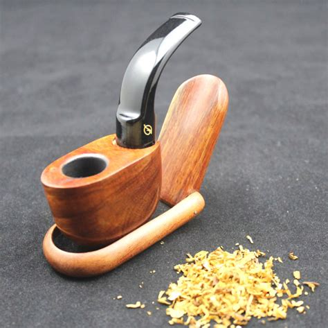 Creative Diy Wood Tobacco Pipe