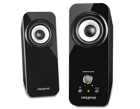Creative Labs - Inspire T12 Speakers - Black