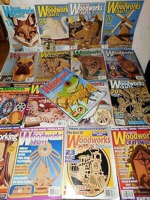 Creative-Woodworks-Crafts-Back-Issues