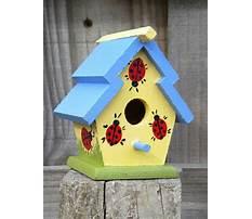 Best Creative clay birdhouses