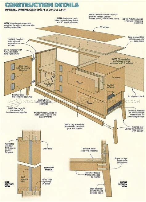 Credenza-Woodworking-Plans