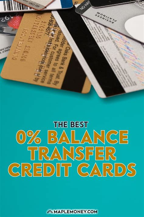 Credit Cards With 0 Balance Transfers