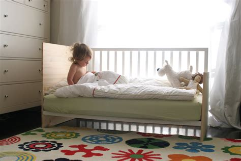 Crib Convert To Bed Diys