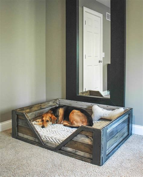 Crib Mattress Dog Bed Diy Pallet