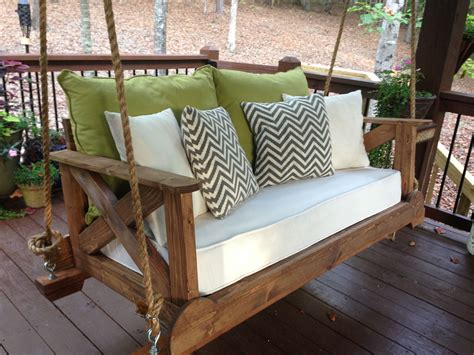 Crib-Mattress-Porch-Swing-Diy