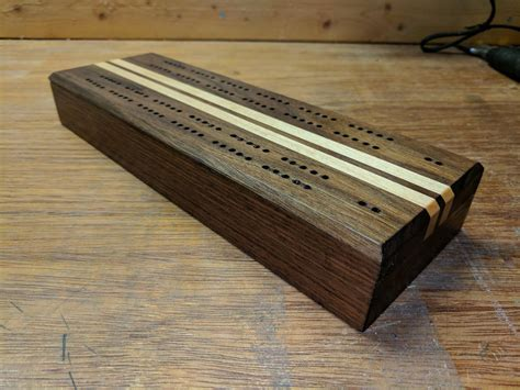 Cribbage Board With Sto Plans DIY