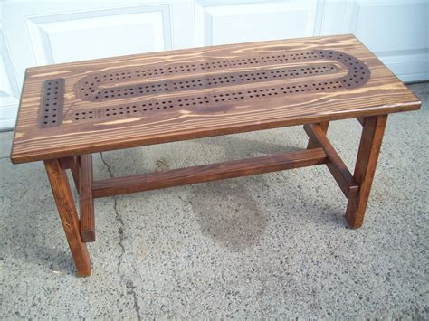 Cribbage Coffee Table Plans