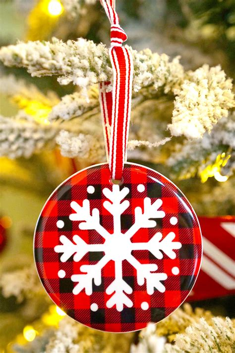 Cricut Maker Wood Ornaments Diy Pictures