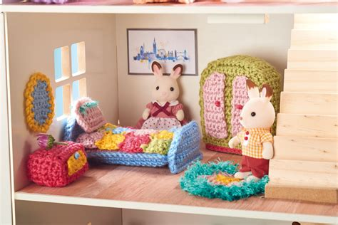 Crochet Doll Furniture Patterns Free