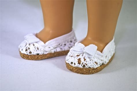 Crochet Shoes For American Girl Doll