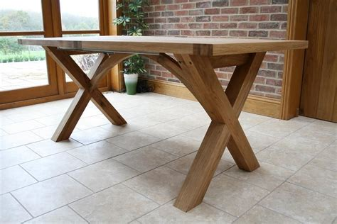 Cross Leg Dining Table Diy