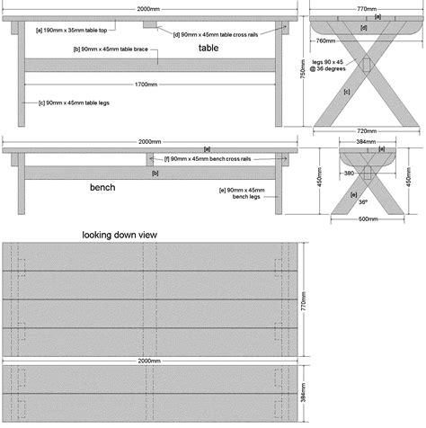Cross-Legged-Picnic-Table-Plans