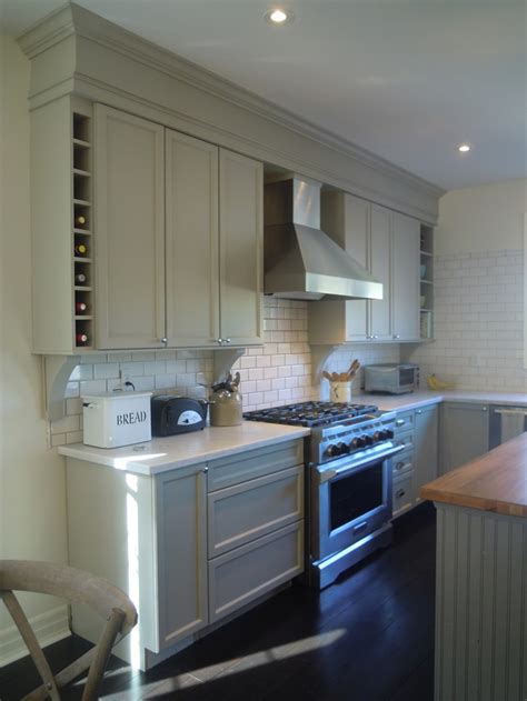 Crown Molding On Top Of Cabinet Soffit