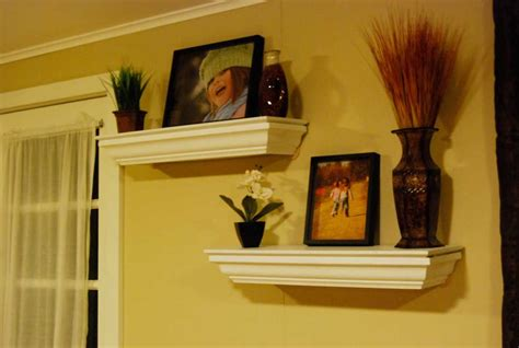 Crown Molding Shelf DIY Built in