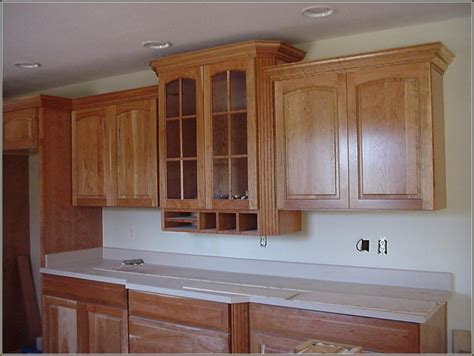 Crown Moulding For Top Of Kitchen Cabinets
