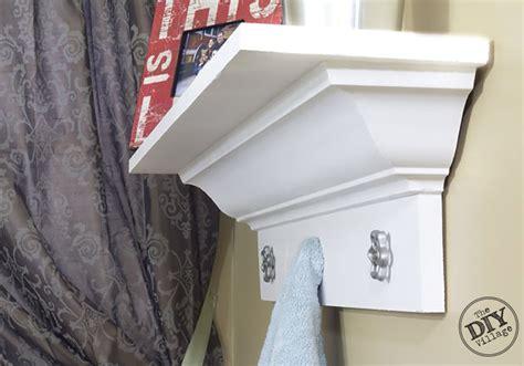 Crown-Molding-Bookshelf-Diy