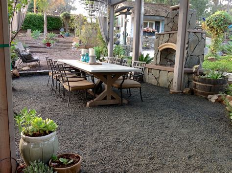 Crushed-Stone-Patio-Diy