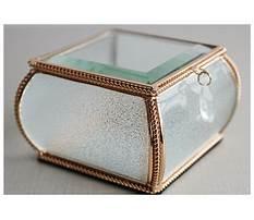 Best Crystal jewelry box sale