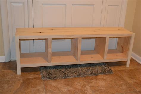 Cubby Bench With Cushion Diy Plans