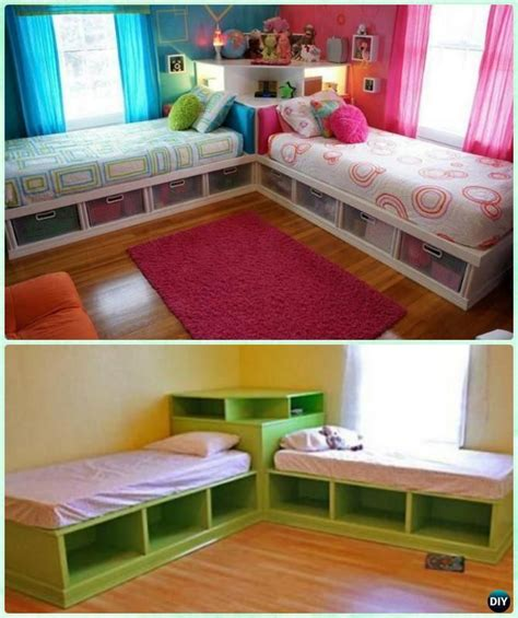 Cube Organizer Twin Bed Diy Kids