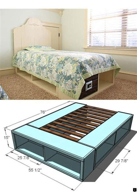 Cube Storage Bed Diy Plans