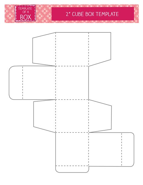 Cube-Box-Template