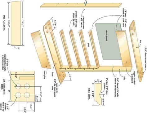 Cue-Stick-Rack-Plans