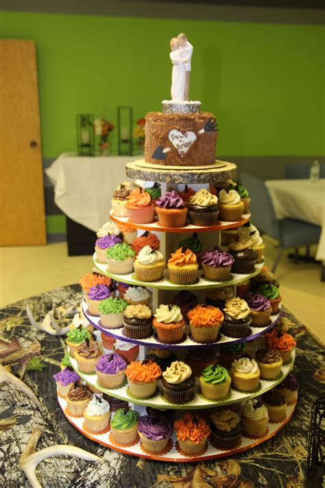 Cupcake Tower Decorating Ideas