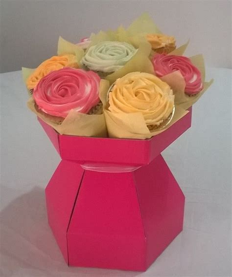 Cupcake-Bouquet-Box-Diy