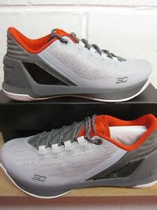 Curry 3 Low Mens Basketball Trainers 1286376 Sneakers Shoes