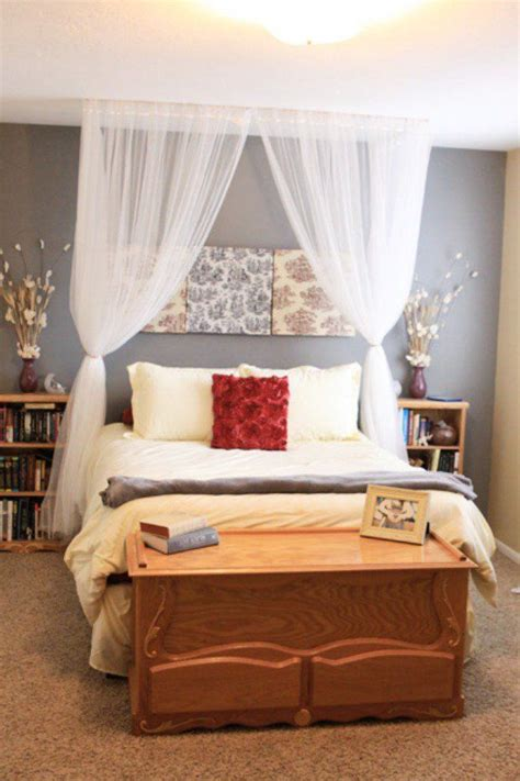 Curtain Over Bed Diy