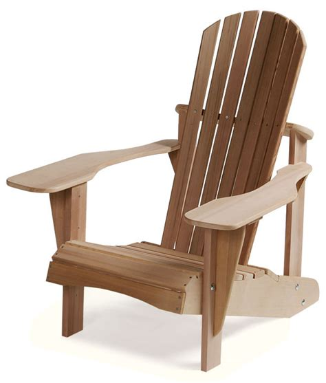 Curved Back Adirondack Chairs Plans