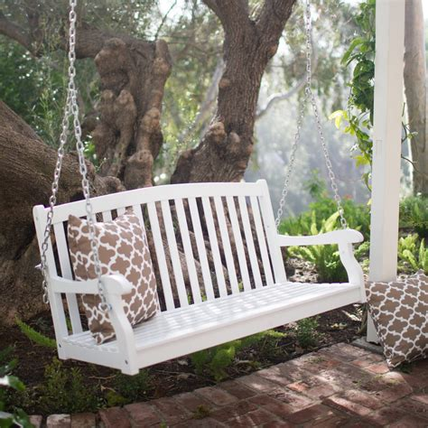 Curved Back Porch Swing Plans