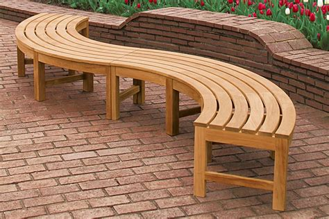 Curved Seat Bench Plans
