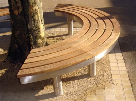 Curved Wood Bench Detail For Wood Decks