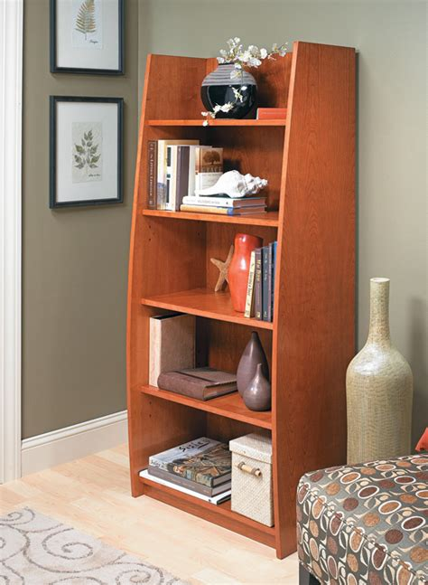 Curved-Bookcase-Plans