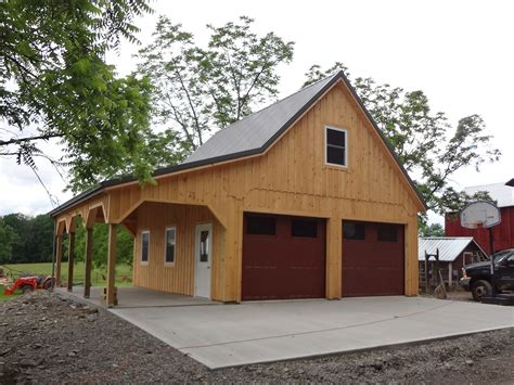 Custom Barn Shop Plans