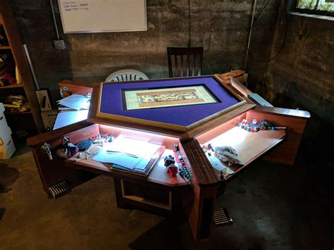 Custom Board Game Table Plans