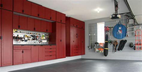 Custom Built Garage Storage Cabinets
