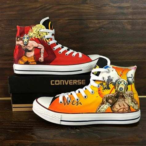 Custom Designed Converse Sneakers