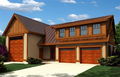 Custom Garage Plans With Apartments