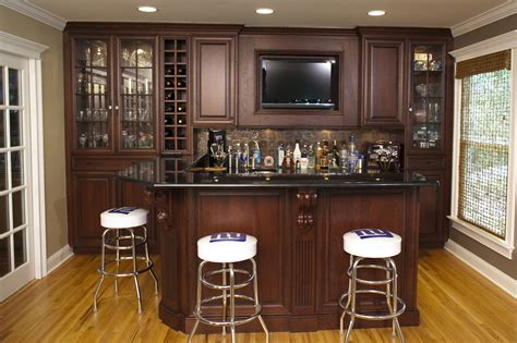 Custom Home Bar Design Plans