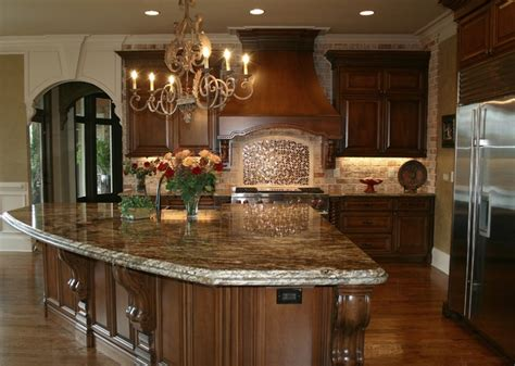 Custom Kitchen Designs Traditional Homes